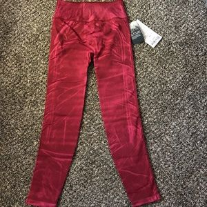 NWT LULULEMON EBB TO STREET TIGHTS SZ 6 CHIANTI
